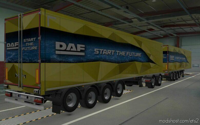 Unlocked Scandinavian Trailers By Rodonitcho Mods [1.42.X] for Euro Truck Simulator 2