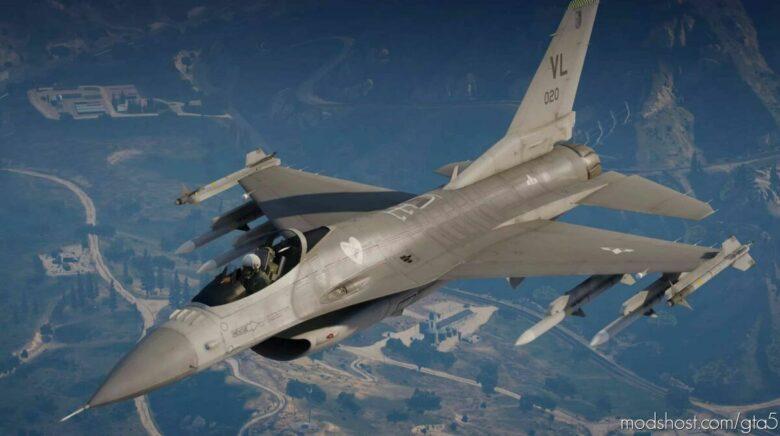 F-16C Fighting Falcon V1.1 for Grand Theft Auto V