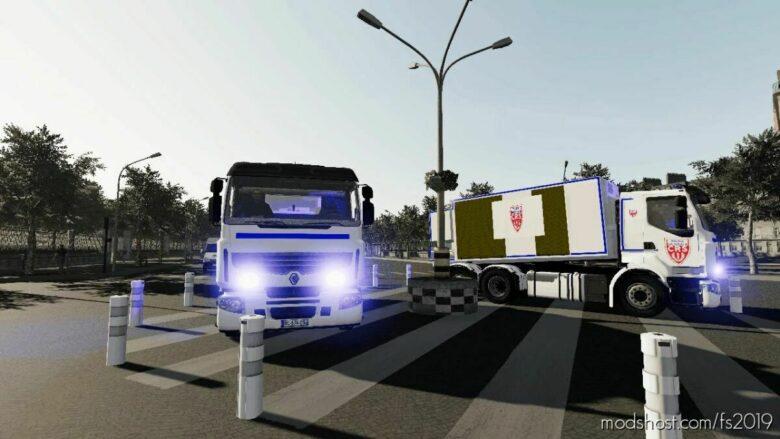 Renault Lander CRS for Farming Simulator 19