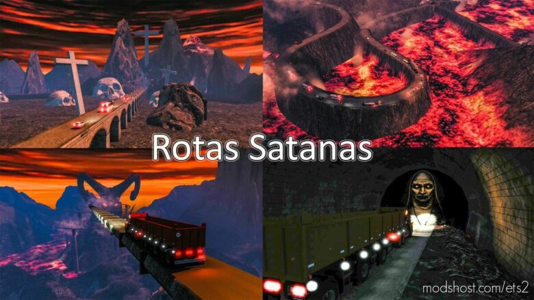 Rotas Satanas Map Save Game Profile [1.40 – 1.42] Beta for Euro Truck Simulator 2