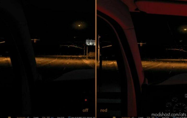 Interior Cabin Lights [1.42] for American Truck Simulator