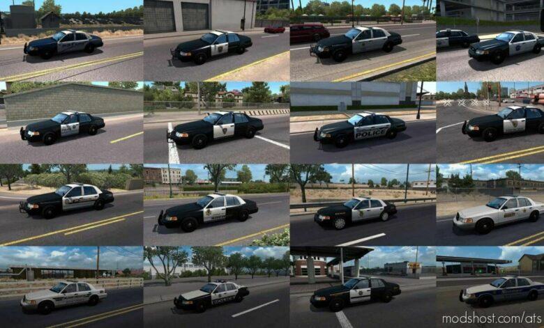 Municipal Police Traffic Pack [1.42] for American Truck Simulator