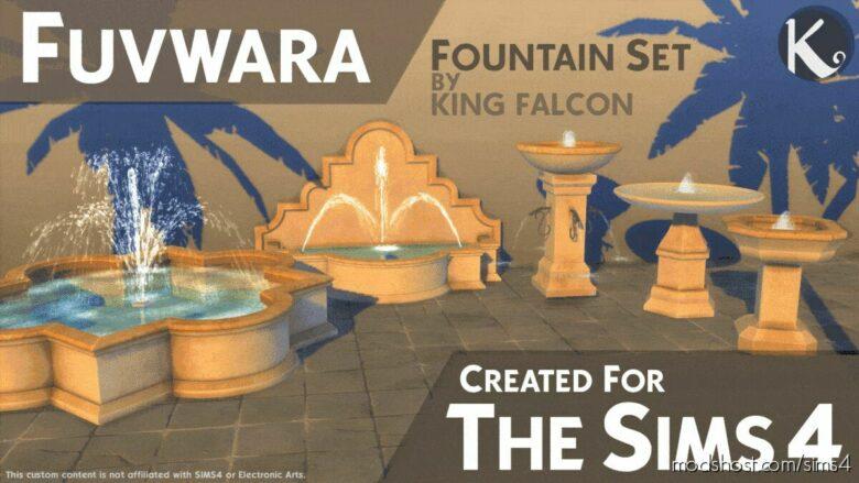 Fuvwara – Fountain SET for The Sims 4