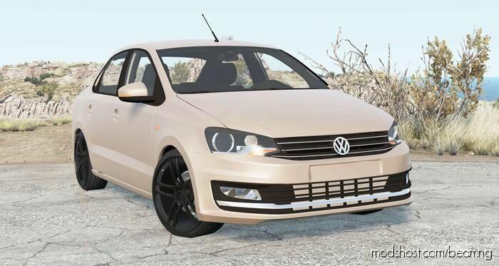 Volkswagen Polo Sedan 2015 for BeamNG.drive