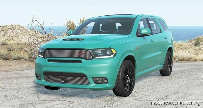 Dodge Durango SRT (WD) 2018 V2.0 for BeamNG.drive