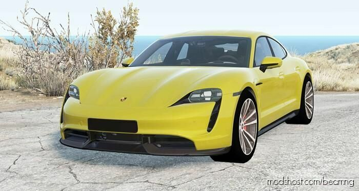 Porsche Taycan Turbo S 2020 for BeamNG.drive