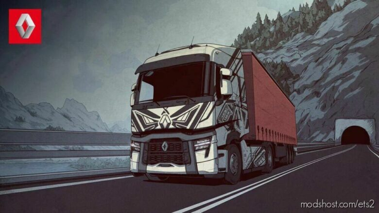 Renault Range T & T EVO Realistic Sound Mod [1.42] for Euro Truck Simulator 2