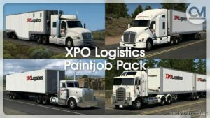 XPO Logistics Paintjob Pack V1.4 for American Truck Simulator