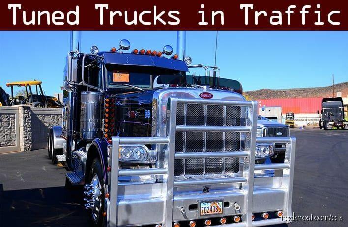 Tuned Truck Traffic Pack By Trafficmaniac V1.7 for American Truck Simulator
