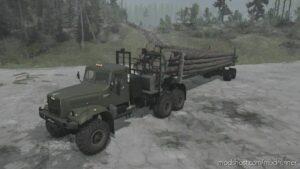 Kraz-255B Truck V03.10.21 for MudRunner