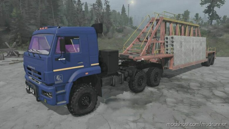 Kamaz-6522-53 Truck V03.10.21 for MudRunner