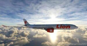 Headwind Airbus A330-900Neo Lion AIR Pk-Lej | 4K for Microsoft Flight Simulator 2020