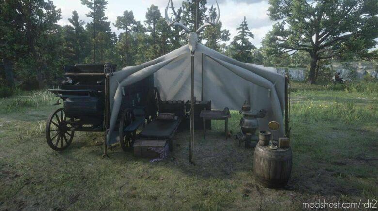 Horseshoe Overlook Luxury Tent for Red Dead Redemption 2