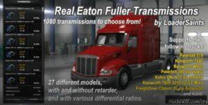 Real Eaton Fuller Transmissions [1.41 – 1.42] for American Truck Simulator