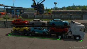 Ownable CAR Transporter Semi Trailer [1.42] for Euro Truck Simulator 2