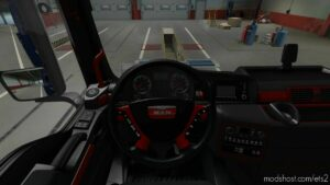MAN TGX Decent Interiors V1.3 [1.41 – 1.42] for Euro Truck Simulator 2