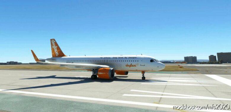 Skybus With Logo Livery For FBW A32NX for Microsoft Flight Simulator 2020