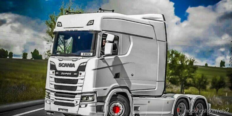 Scania 2016 Next GEN Lonline Cabin [1.42] Beta for Euro Truck Simulator 2
