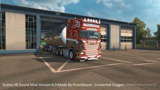 Scania V8 Sound V8.0 for Euro Truck Simulator 2