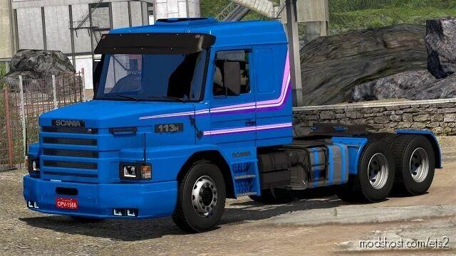 Scania 113 Atualizado V2.1 for Euro Truck Simulator 2