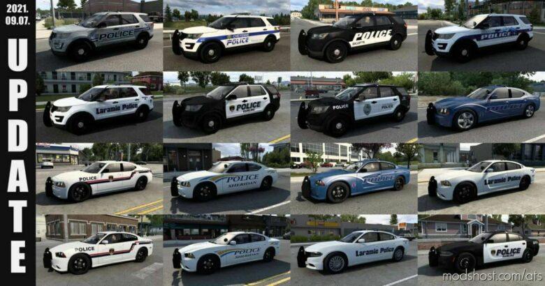 Municipal Police Traffic Pack V1.2.2 -04.10.21- [1.42] for American Truck Simulator