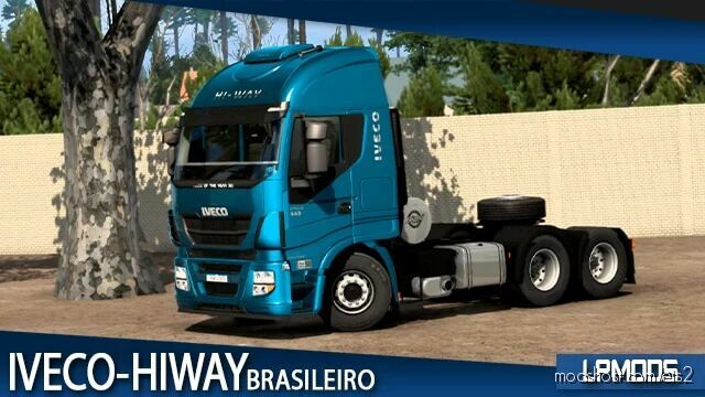 Iveco Hi-Way Brazilian Version V1.1.1 [1.42] for Euro Truck Simulator 2