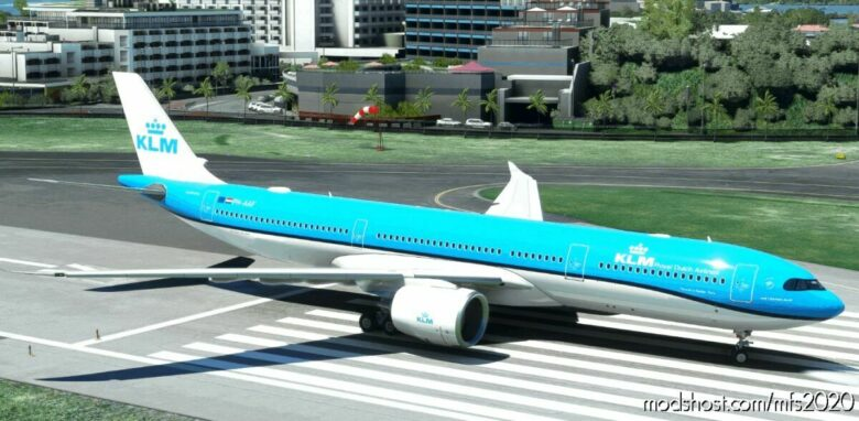 "KLM ""2014 Livery"" Headwind A330-900 for Microsoft Flight Simulator 2020"