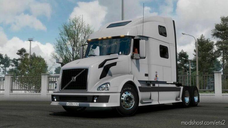 Volvo VNL II-III Generation By Nikola [1.41] for Euro Truck Simulator 2