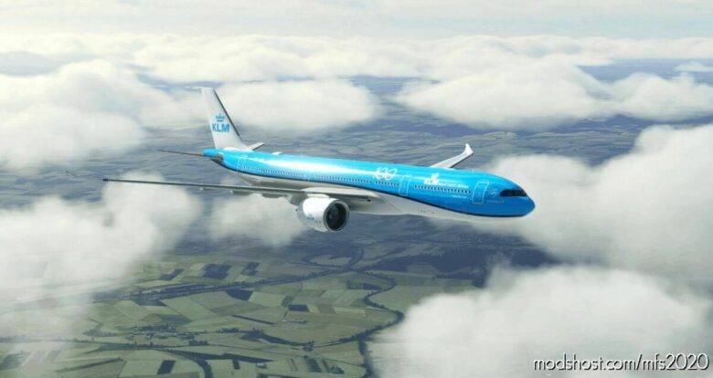 "KLM ""100 Years"" A330-900 NEO – 8K V1.1 for Microsoft Flight Simulator 2020"