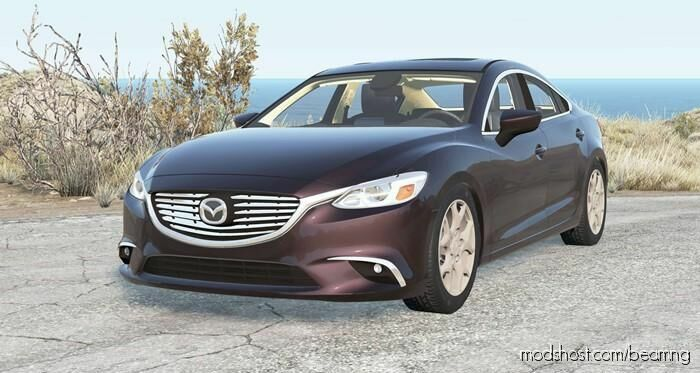 Mazda 6 Sedan (GJ) 2015 for BeamNG.drive