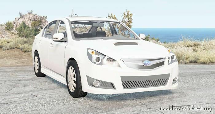 Subaru Legacy B4 (BM) 2009 for BeamNG.drive