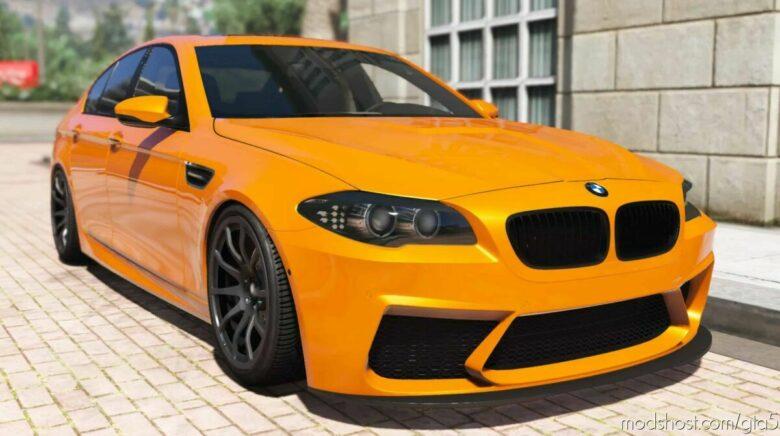2012 BMW M5 F10 V1.2 for Grand Theft Auto V