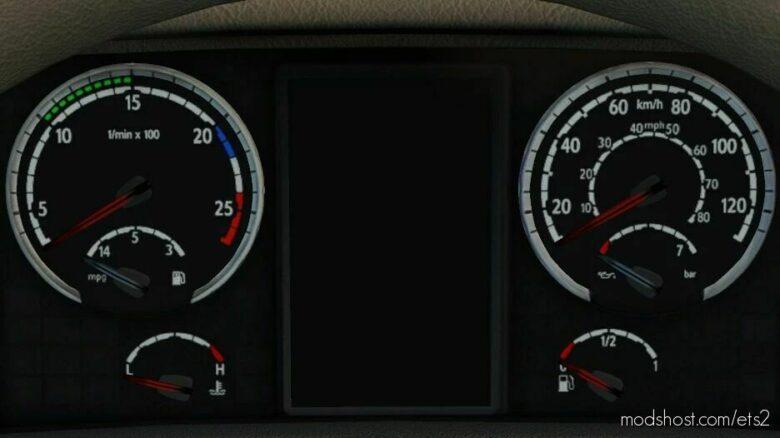 Scania R/Scania Streamline HD Gauges [1.42] for Euro Truck Simulator 2
