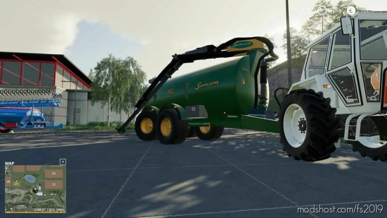 Samson PG20 OLD 2-Achsel for Farming Simulator 19