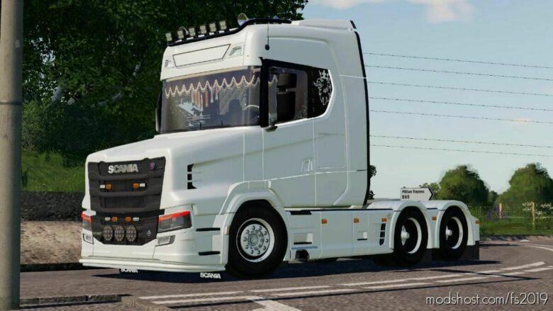 Scania S730T for Farming Simulator 19