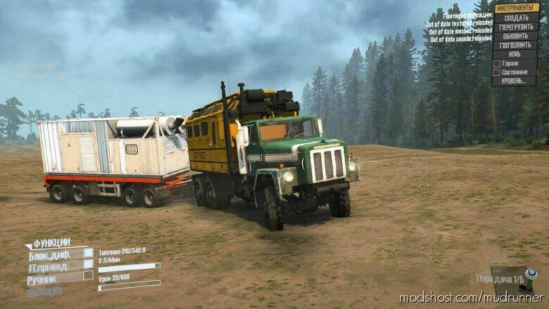 International Paystar 5070 Truck V1.1 for MudRunner