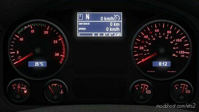 MAN TGX HD Gauges [1.41 – 1.42] for Euro Truck Simulator 2