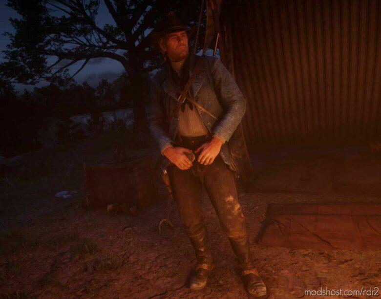 Denim Jacket for Red Dead Redemption 2