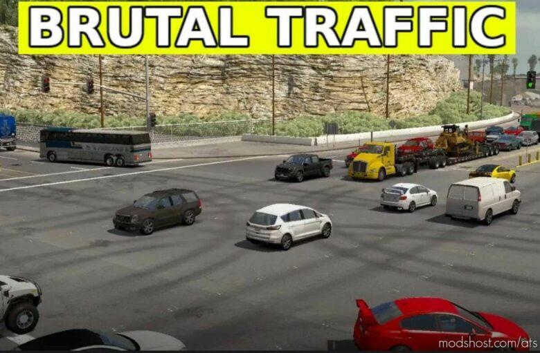 Brutal Traffic V1.8 for American Truck Simulator