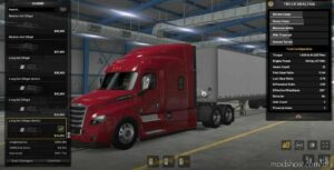 Freightliner Cascadia Parts Pack V1.0.3 for American Truck Simulator