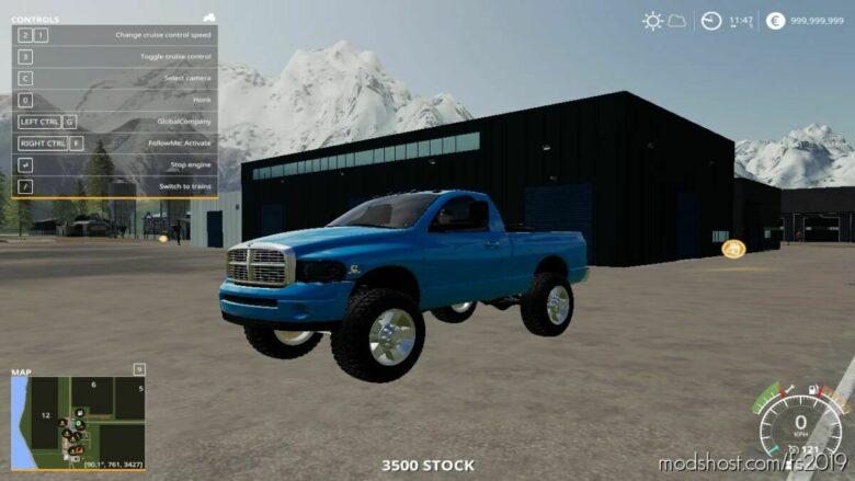 2004 Dodge RAM 3500 Short BED SRW for Farming Simulator 19