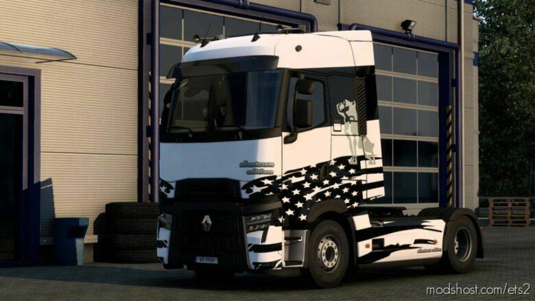 Renault Allentown Edition Skin for Euro Truck Simulator 2