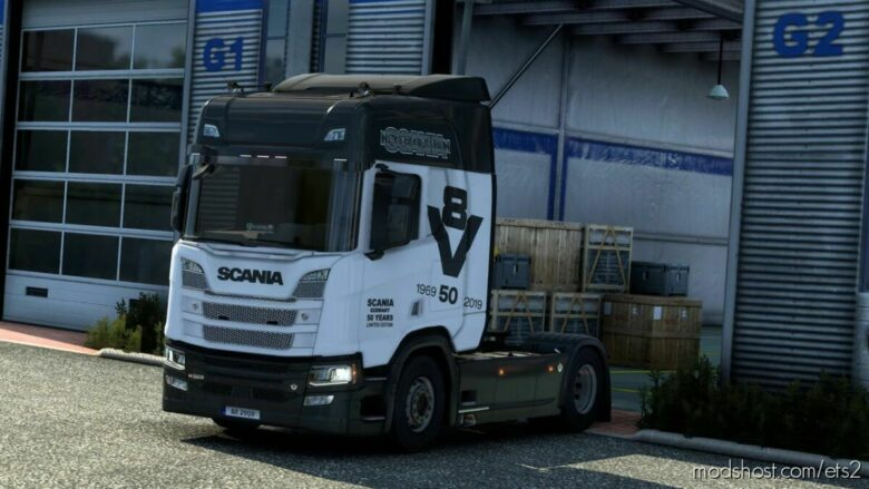 Scania R&S Next GEN 50 Years Germany (Metallic) Skin for Euro Truck Simulator 2