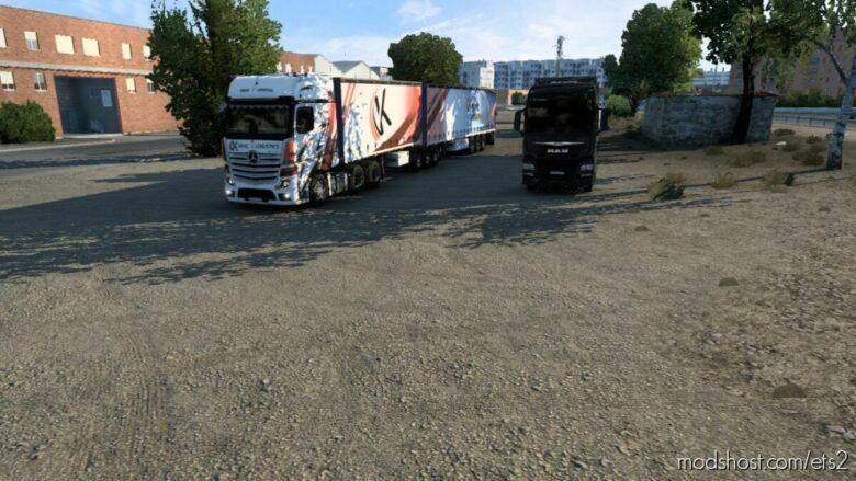 Kirvic Logistics Skin for Euro Truck Simulator 2
