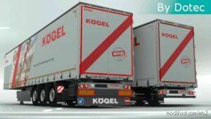 Kögel Trailers By Dotec V1.0.2 [1.41] – [1.42] for Euro Truck Simulator 2