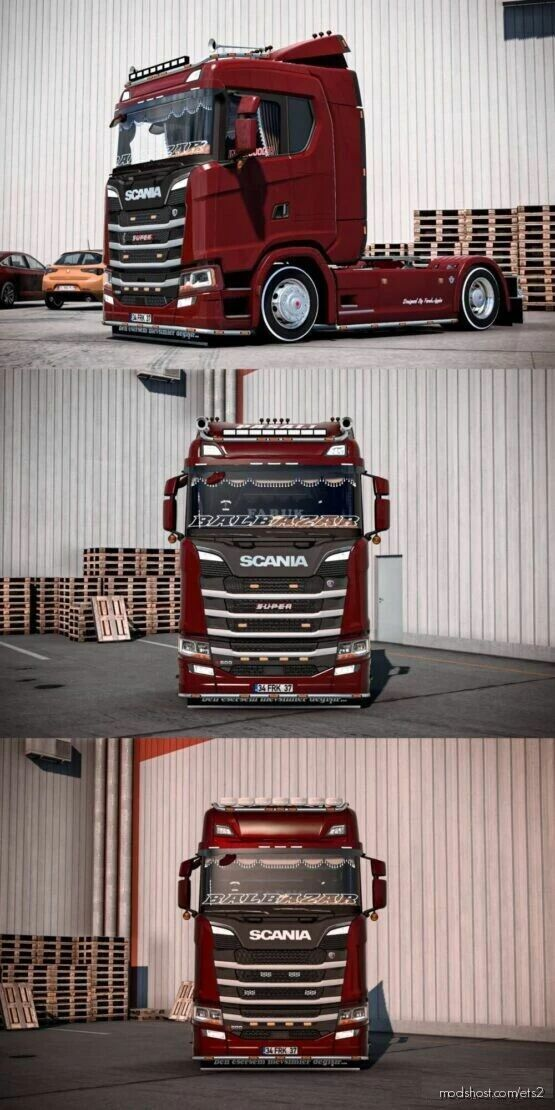 Scania S500 Turkish Edition [1.41] for Euro Truck Simulator 2