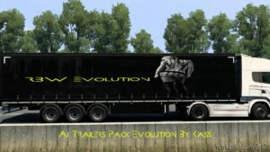 AI Trailers Pack Evolution [1.41] for Euro Truck Simulator 2