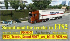 Trucks Sound N007 Ver02.10.2021.Scs [1.41] for Euro Truck Simulator 2