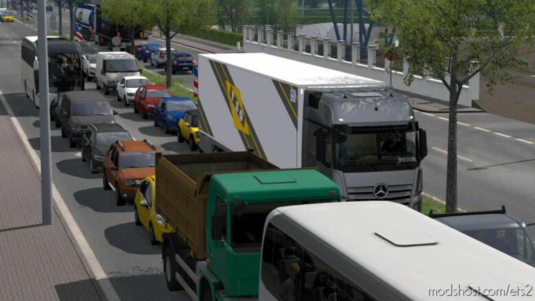 Brutal Traffic V1.8 [1.41] for Euro Truck Simulator 2