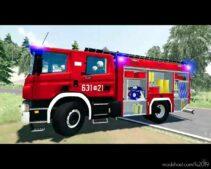Scania P360 GBA 2,5/36 ISS Wawrzaszek 631[M]21 JRG Sochaczew for Farming Simulator 19